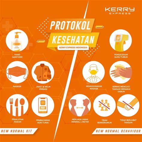 protokol kesehatan    normal kerry express indonesia