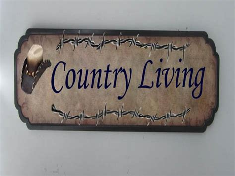 Signs And Plaques Home Decor Bloombety Mdf Digital Printing Country Home Decor Signs Country Home Decor Signs What You
