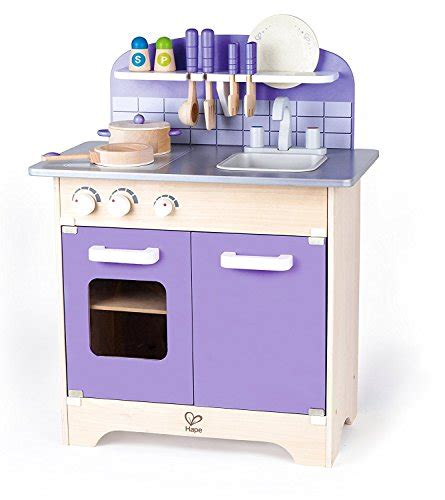 homcom kitchen food cooking appliances kids wooden craft hape kitchen play set wooden play kitchen for boys and