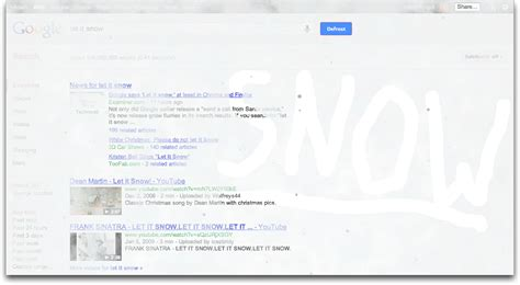 Fix Christmas Tree Lights Type Let It Snow Into Google Tidbits