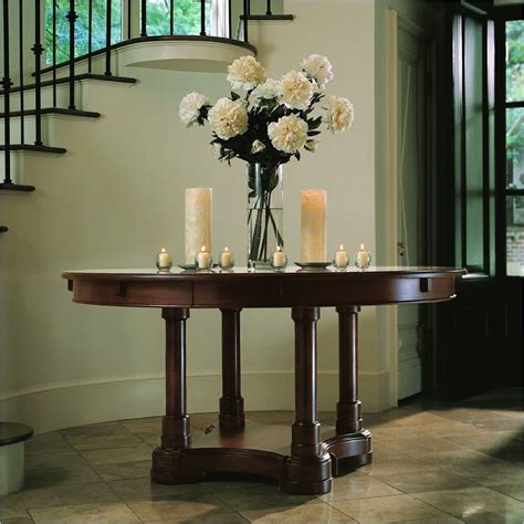 entry hall table decor 25 editorial worthy entry table ideas designed with every