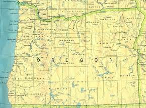 oregon map oregon maps perry casta 241 eda map collection ut library
