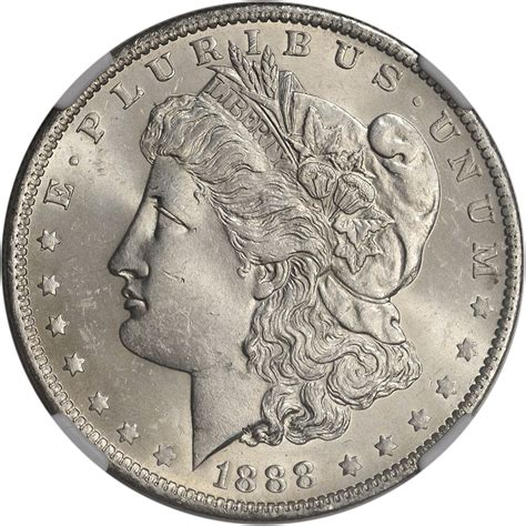 o mint on dollars 1888 o us silver dollar 1 rotated dies ngc