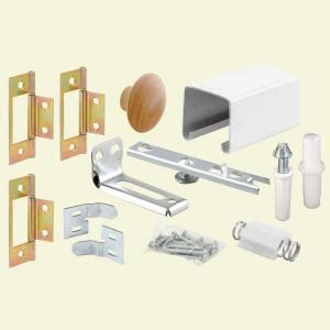 closet door tracks home depot prime line 30 in bi fold closet door track kit 164685