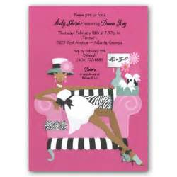 mellow pink american baby shower invitations paperstyle