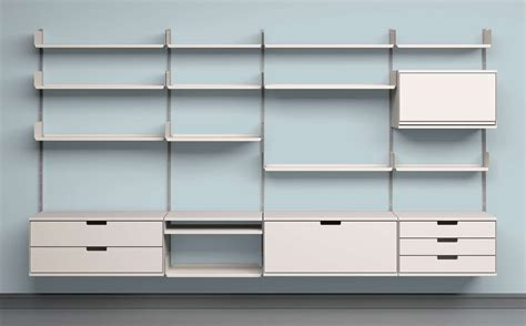 Wall Shelving Systems 12 Well Thought Out Modular Shelving Systems