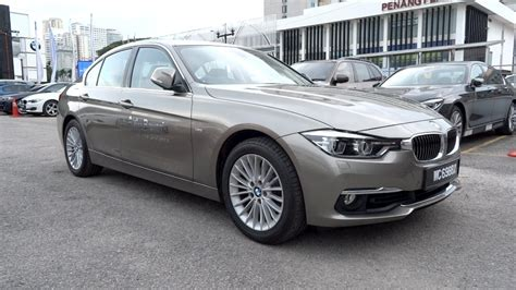 luxury bmw 2016 bmw 318i luxury line start up and vehicle tour