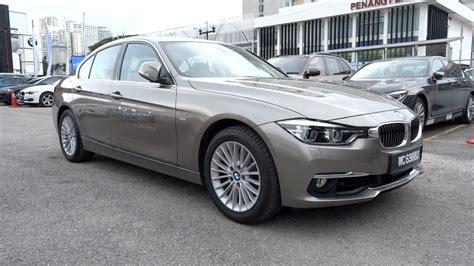 luxury bmw 2016 bmw 318i luxury line start up and vehicle tour