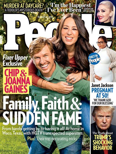 joanna gaines magazine fixer upper stars chip and joanna gaines will always