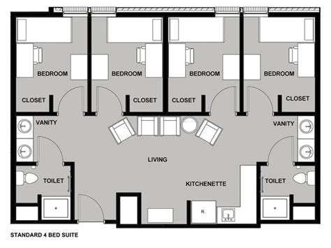 layout room dorm room layout generator illinois state quad dorm rooms quad dorm room layout interior