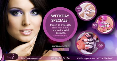 Cosmetics Special Offer by Haircut Offers In Dubai Haircuts Models Ideas