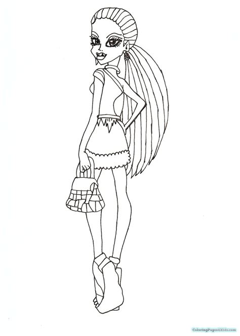 coloring pages monster high abbey monster high abbey coloring pages coloring pages for kids