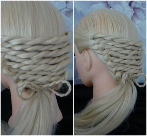 platt hairstyles rope twist with a bow platt hair tutorial hairstyle