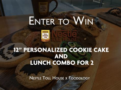Nestle Toll House Cookie Cake by Giveaway Nestle Toll House Cookie Cake 2 Lunch Combos