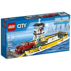town sets lego town sets city 60119 ferry new