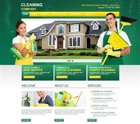 cleaning companies cleaning company website templates sparkling solution