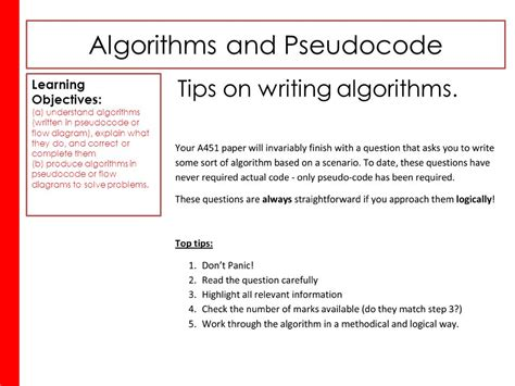 flowchart and pseudocode pdf algorithms and pseudocode ppt