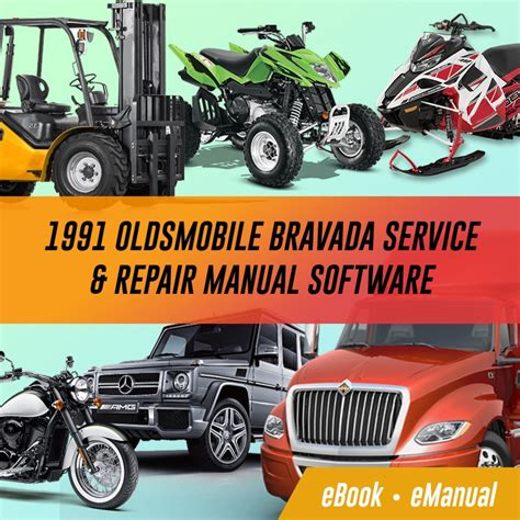 1991 oldsmobile bravada service amp repair manual software