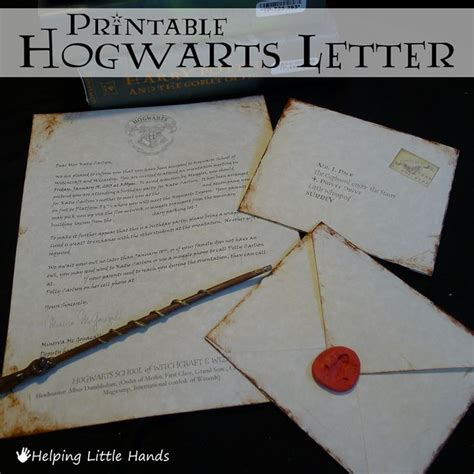 Harry Potter Acceptance Letter Birthday Card Best 25 Harry Potter Letter Ideas On Harry Potter Invitations Diy Harry Potter
