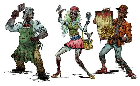 free printable zombie gun targets zombie shooting targets brent schoonover illustration