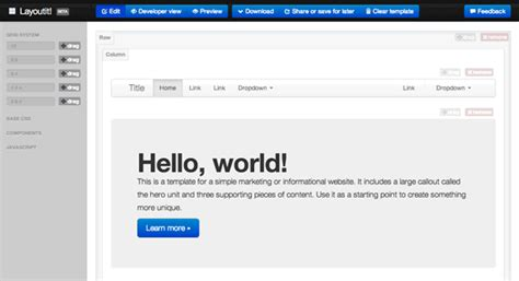layoutit que es layoutit herramienta gratuita para crear layouts de