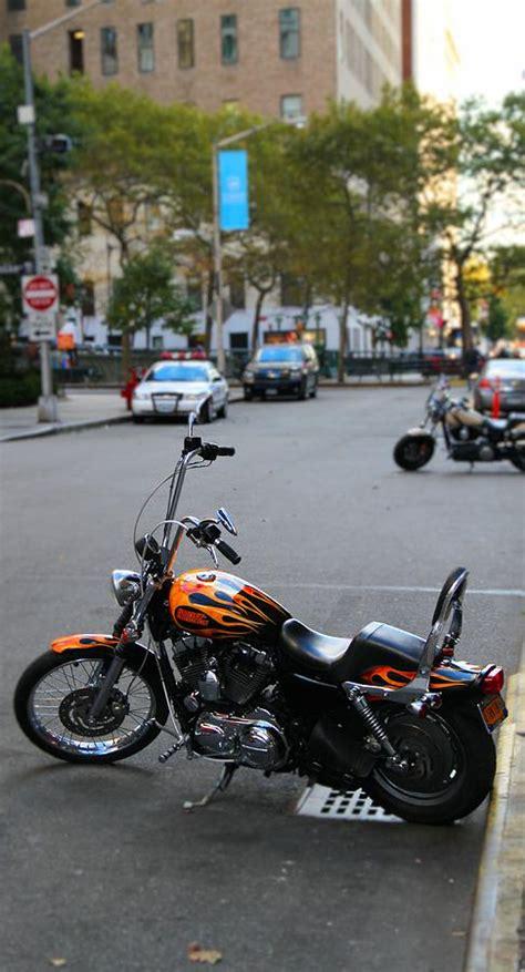 Harley Davidson In New York City by Harley Davidson In New York City Photograph By Dan Sproul