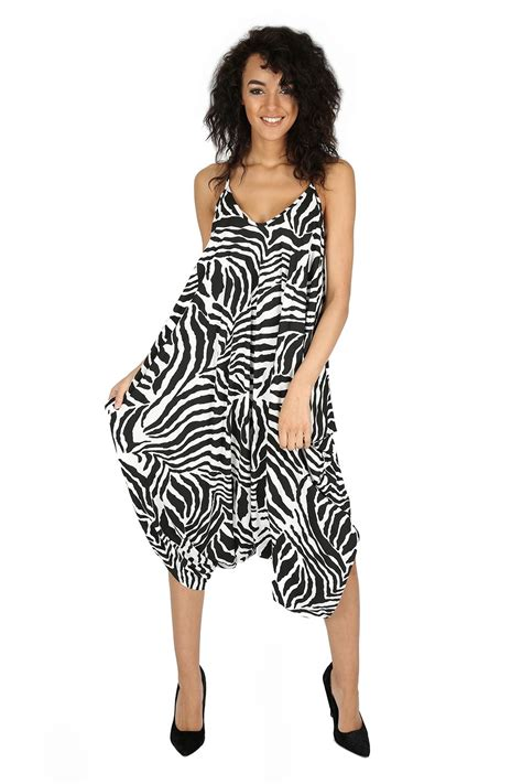 Jumpsuit Playshot womens jumpsuit cami thin strappy playsuit lagenlook romper baggy harem ebay