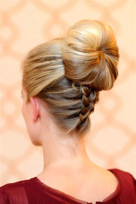hairstyles accessories bun with socks wedding updo on onewed