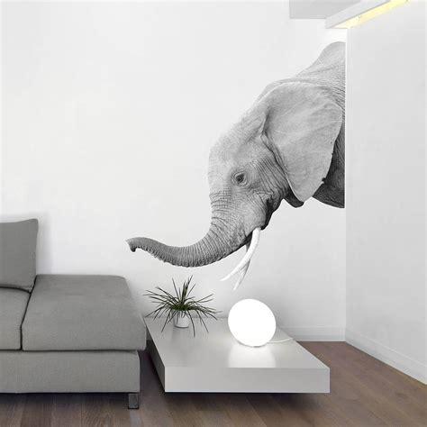 elephant wall stickers elephant wall sticker by oakdene designs