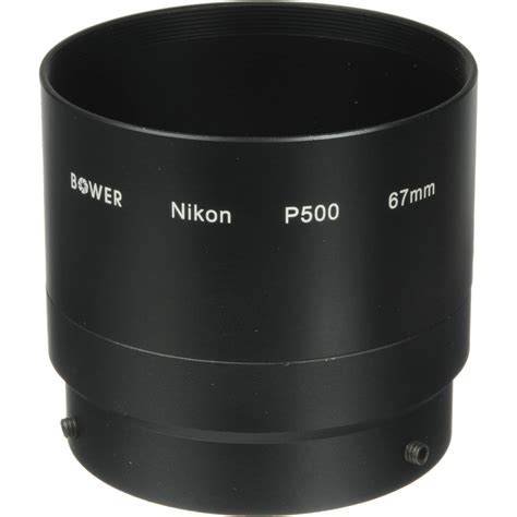 Lens Adapter Nikon 67mm bower 67mm lens adapter for nikon coolpix p500 digital