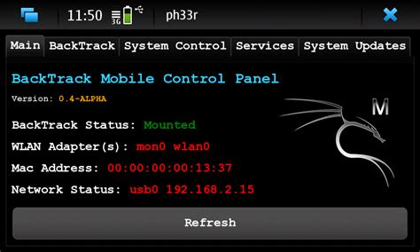 backtrack mobile neopwn backtrack mobile pour le n900 korben