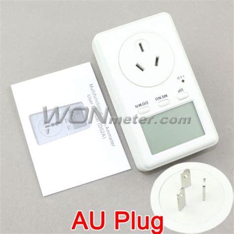 Watt Meter Voltage Kwh Haigh Quality Murah mini metering socket australia multi function watt