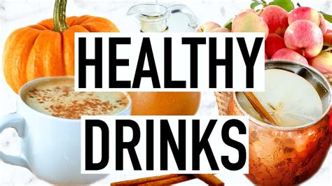 Healthy Drink Nes V healthy fall drink ideas cooking with liv ep 4