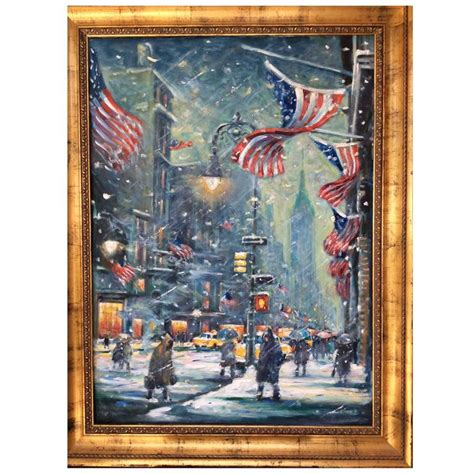 paint nite nyc phone number new york snowy painting by philip corley for sale at