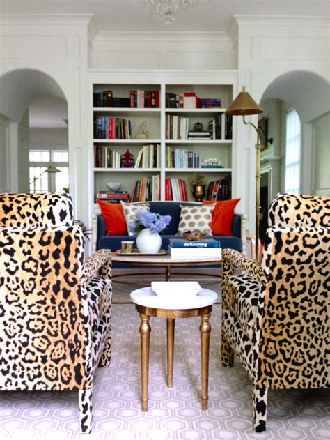 Leopard Living Room by Leopard Print Cheetah Pattern Home Decor Interior Design