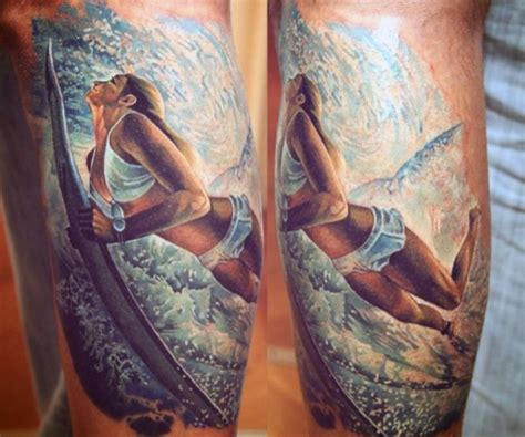 ocean wave tattoos designs surfing waves s designs color tattoos