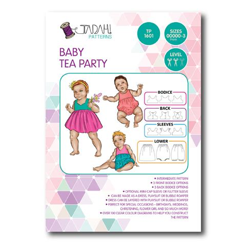 sewing pattern on line tadah sewing pattern baby tea party sewing patterns online