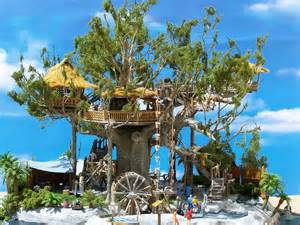 Treehouse Models - mike s swiss family robinson treehouse model dbm your independent disney news source