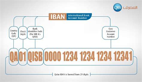 bank islam account number qib implements iban qatar islamic bank