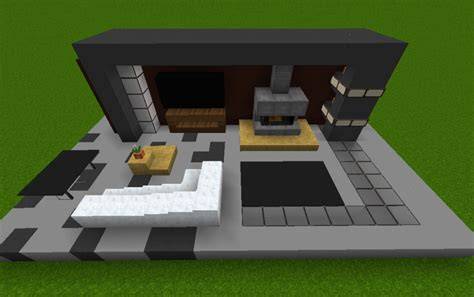 modern minecraft mansion living room by thefawksyartist on minecraft modern living room home design