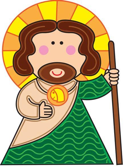 imagenes de jesus en caricatura san judas tadeo my santito y protector en todo momento