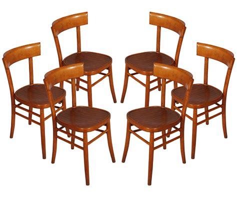 sedie design anni 50 set 6 sedie vintage anni 50 isa bergamo six chairs mid