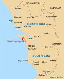 Goa India Map by Goa Maps And Orientation Goa India