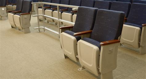 custom couch company custom convention seat federal building auditorium