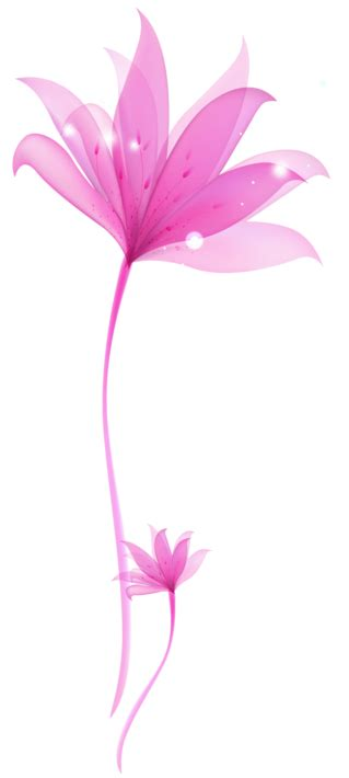 Transparant Pink Decorative decorative pink flower png transparent ornament gallery yopriceville high quality images and