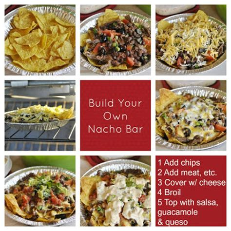 nacho bar topping ideas creative party ideas by cheryl nacho bar for superbowl party