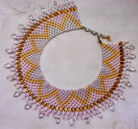 free jewelry patterns colliers on beaded necklaces beading patterns