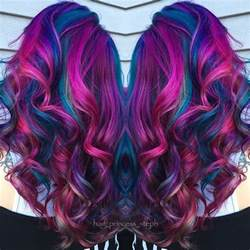 mermaid hair color beautiful fuchsia pink and blue mermaid hair by
