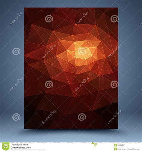 brown grunge geometric abstract background royalty free