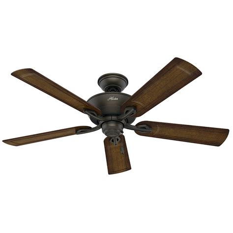 hunter caicos 52 in new bronze wet rated ceiling fan hunter rainsford 52 in outdoor premier bronze ceiling fan